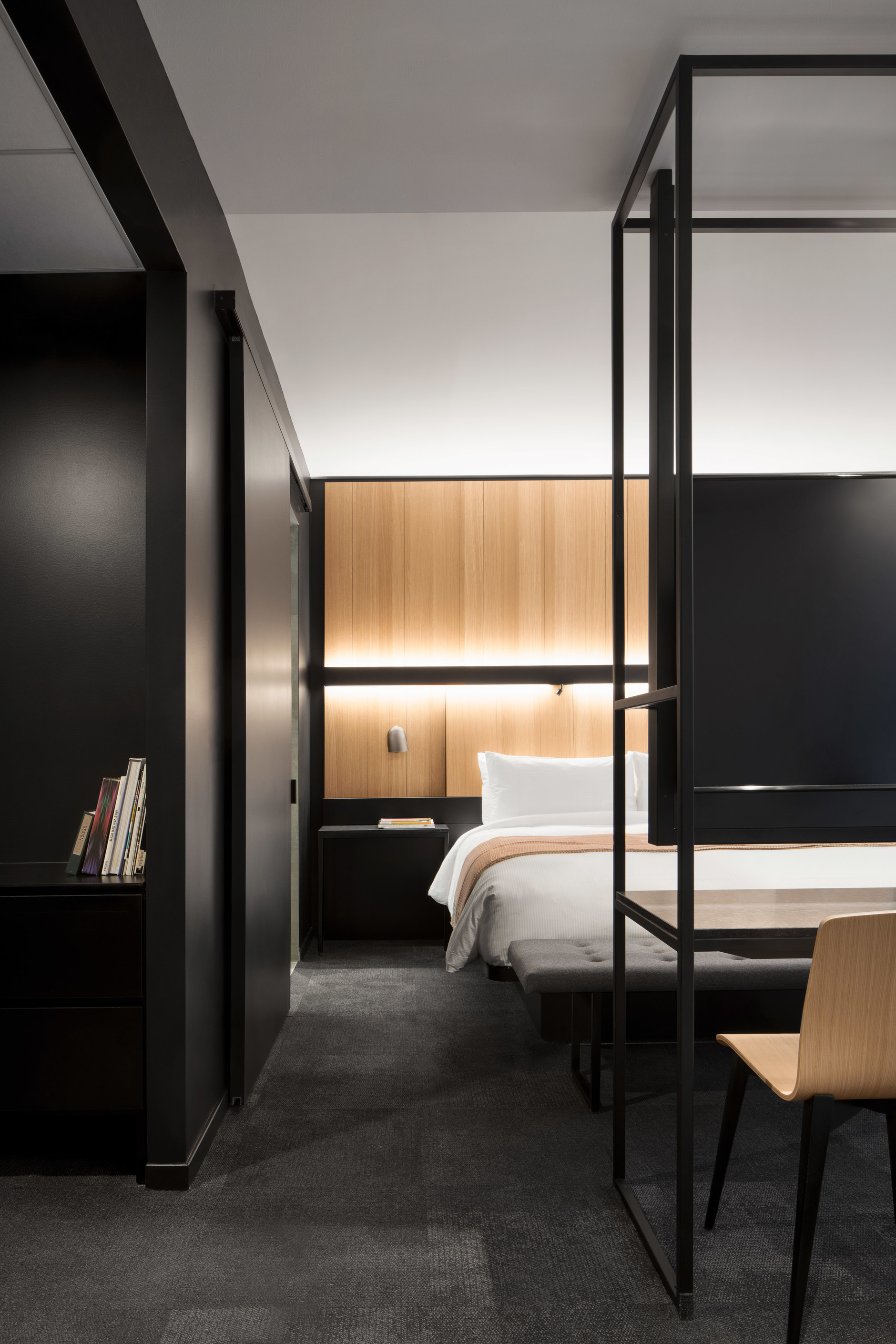 Montreal's Hotel Monville by ACDF Architecture features strict palette (галерея 7, фото 4)