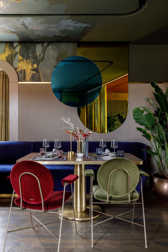 Ресторан с росписями под Белгородом (фото 11.2)