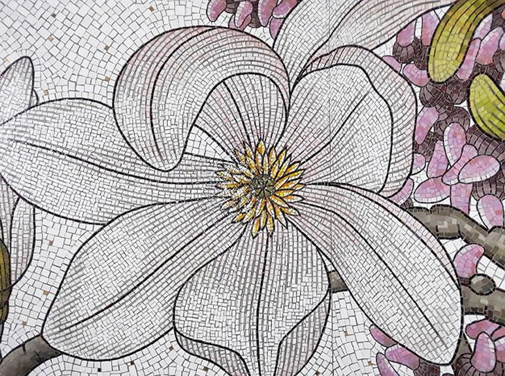 Нэнси Блум украсила мозаикой нью-йоркскую подземку (фото 9)