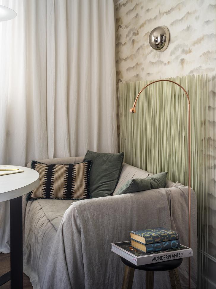 Функциональная квартира 38 м² для девушки-дизайнера (фото 3)