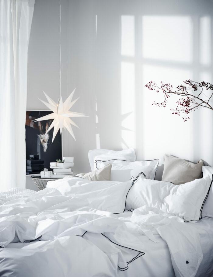 Зима, приходи! Новогоднее настроение в спальне (фото 3)