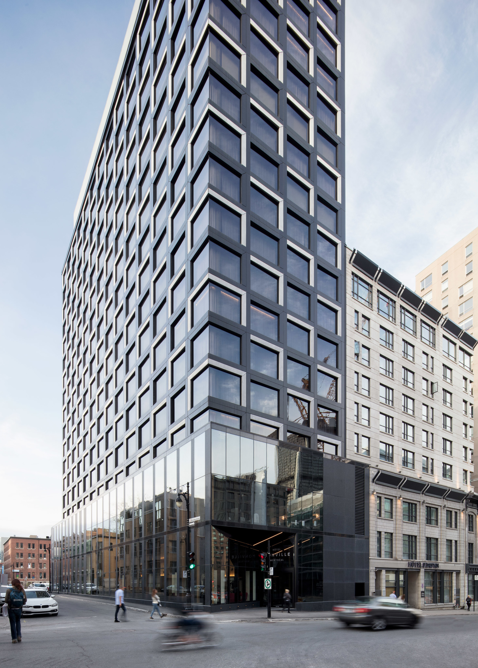 Montreal's Hotel Monville by ACDF Architecture features strict palette (галерея 7, фото 1)