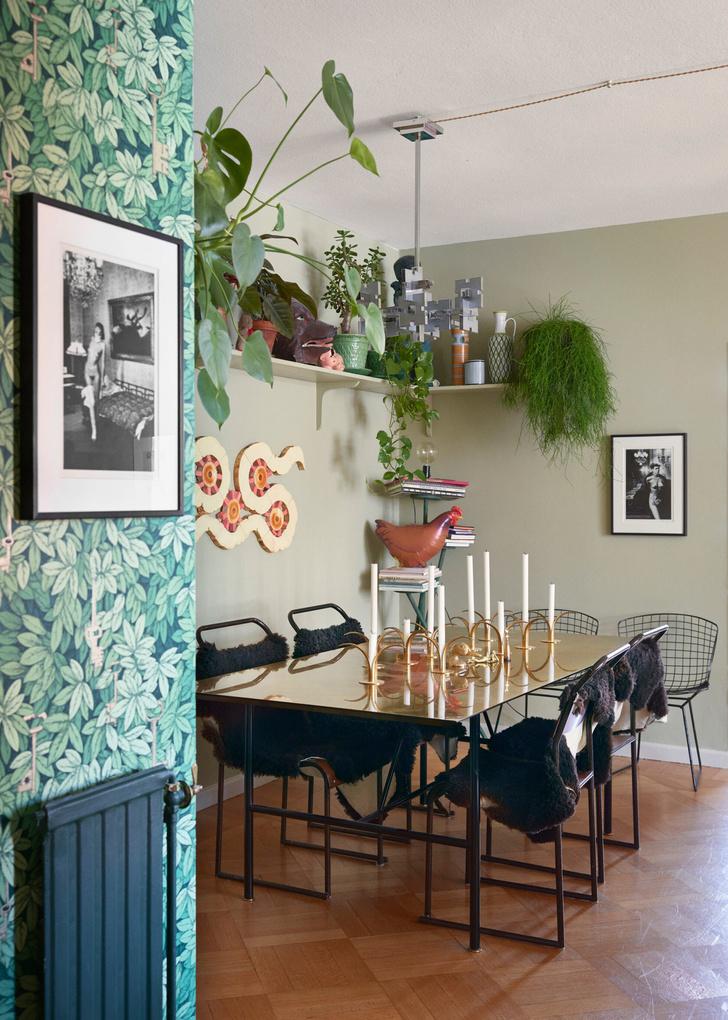 Креативная квартира стилиста и модели Урсулы Венгадер (фото 4)