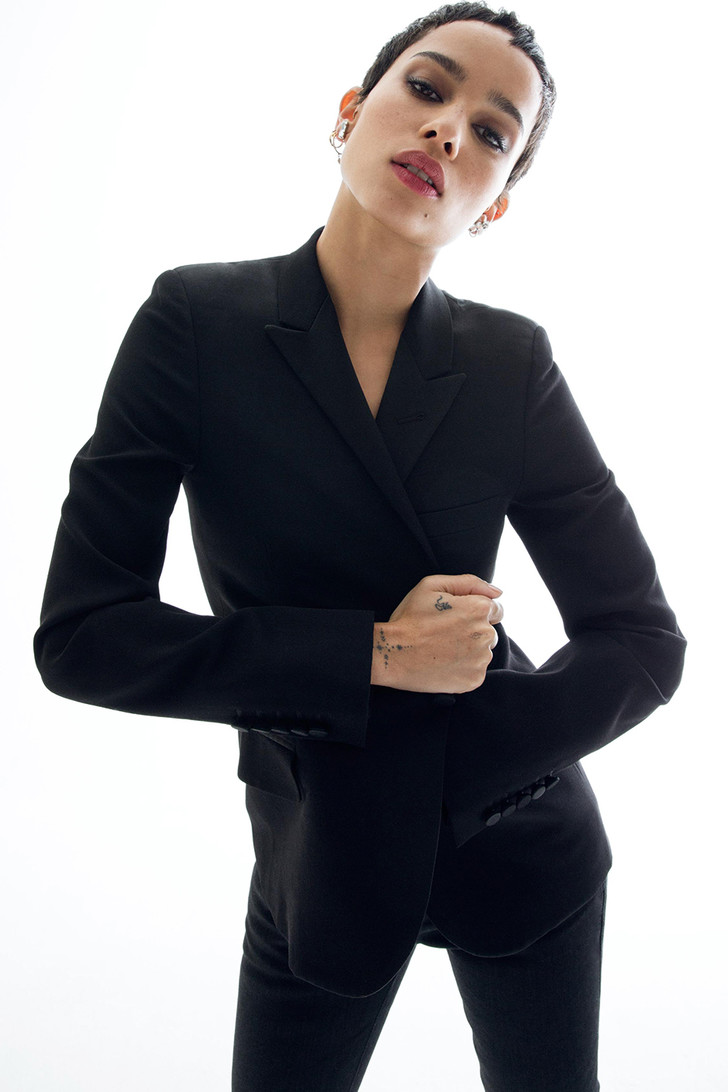 """American woman Зои Кравиц: """"Хорошо быть вежливой, но важнее - честной"""" (фото 1)"""