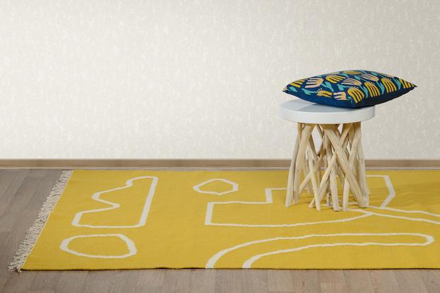 Новые ковры из шерсти их хлопка Tkano (фото 3)
