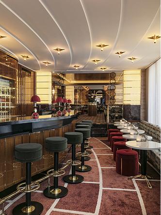 Золотой век: обновленный ресторан La Maison Du Caviar в Париже (фото 2.2)