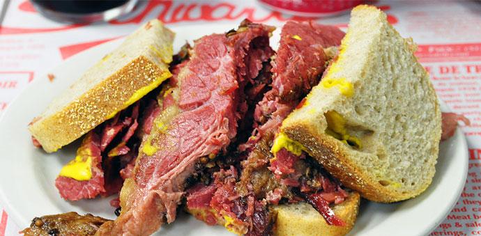 Канада: сэндвич Рубен 1