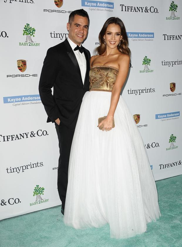 Джессика Альба с мужем: фото 2014