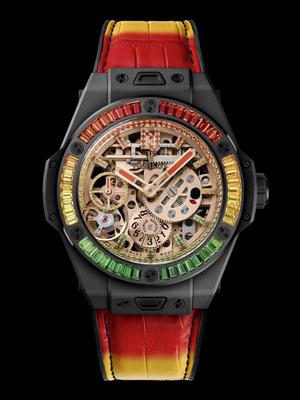 Крупным планом: часы Hublot Big Bang Meca-10 Nicky Jam (фото 4.1)