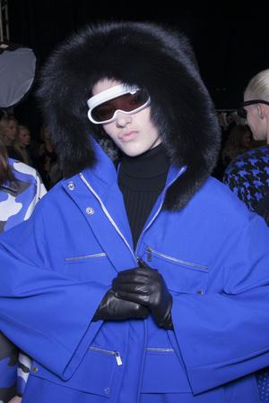 Показ Michael Kors коллекции сезона Осень-зима 2013-2014 года Prêt-à-porter - www.elle.ru - Подиум - фото 495020