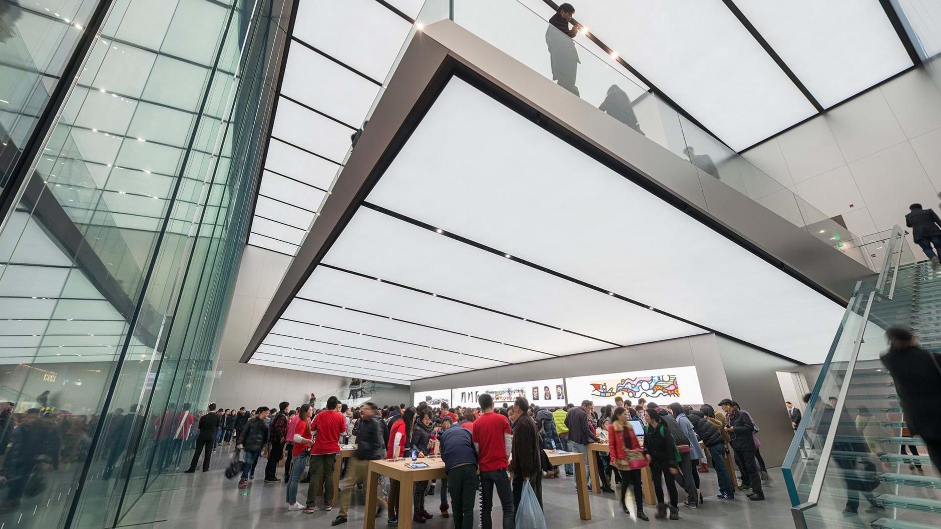 10 самых эффектных бутиков Apple (галерея 7, фото 0)