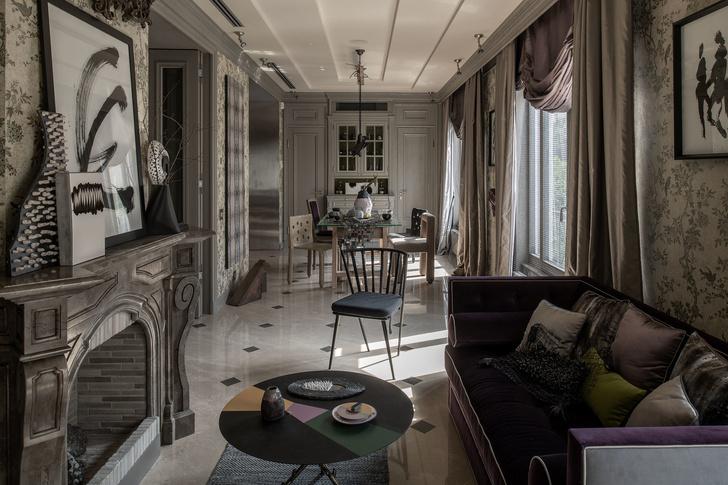 Квартира с коллекционным дизайном в центре Киева (фото 0)