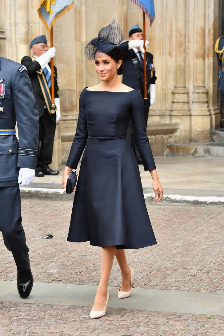 Прощай, королева: лучшие выходы Меган Маркл в качестве члена монаршей семьи (фото 23)