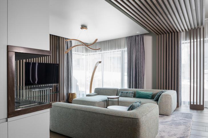 Современная квартира 220 м² в Москве (фото 8)
