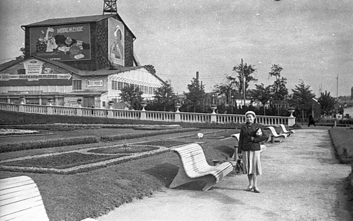 Девушка с веслом: 90 лет Парку Горького (фото 10)