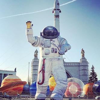 """Открытие павильона """"Космос"""" на ВДНХ (фото 0.1)"""