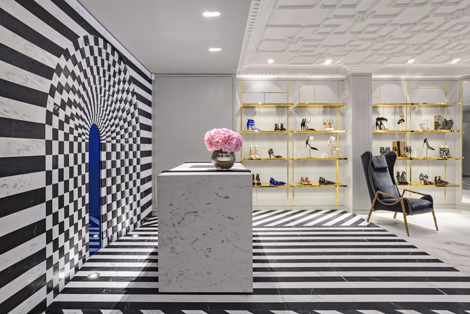 В Лондоне открылся первый флагманский магазин Aquazzura   галерея [1] фото [12]