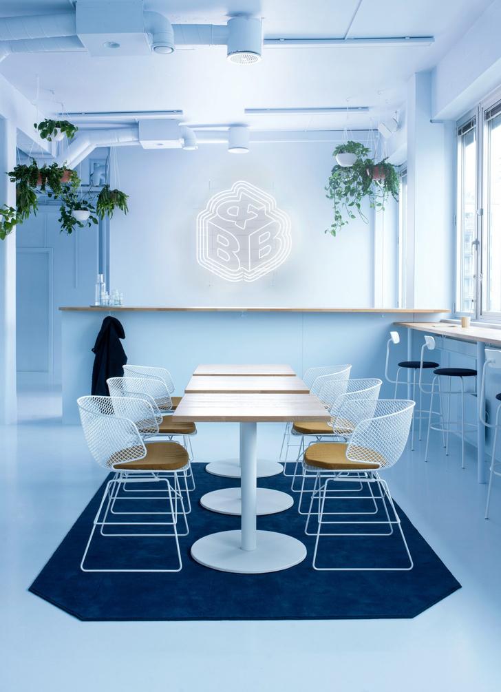 Офис в пастельных тонах по проекту Kvistad в Осло (фото 4)