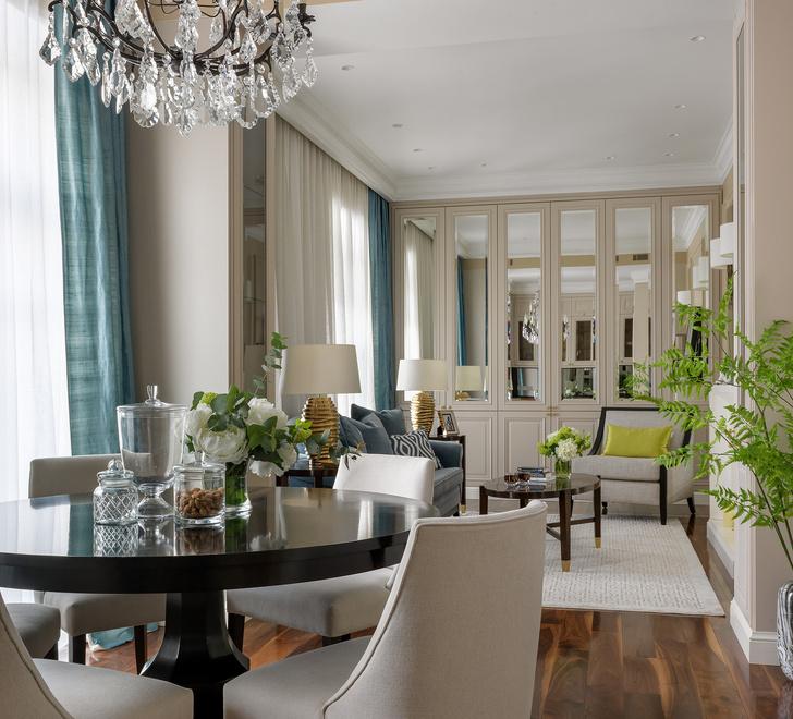 Квартира 101 м² в центре Москвы: проект Виктории Власовой (фото 10)
