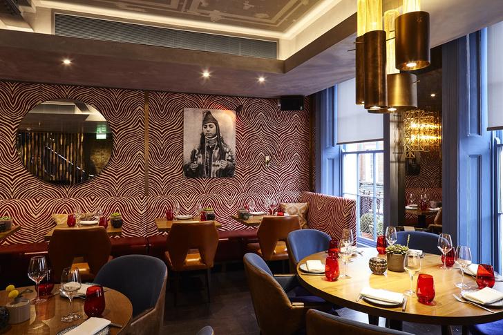 Ресторан OSH в Лондоне: проект Ирины Глик (фото 3)