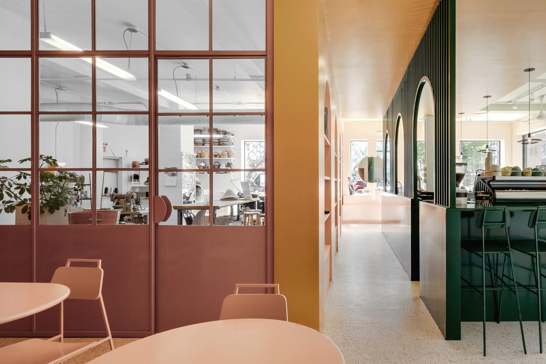 Яркий проект Pastel Rita в Монреале от студии Appareil Architecture (галерея 5, фото 1)