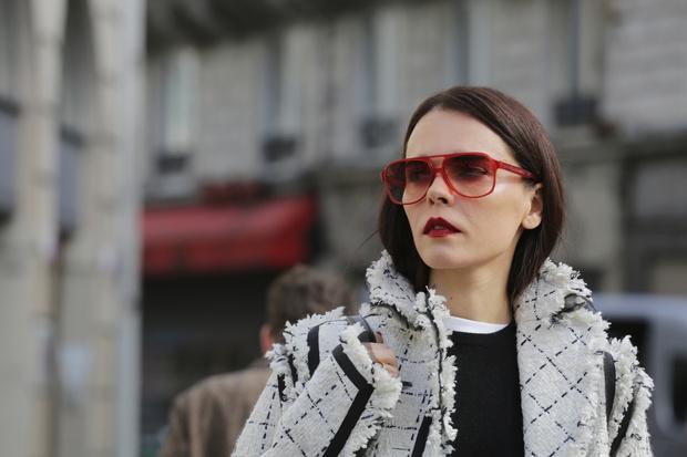 Что носили на Неделе моды в Париже? (фото 8)