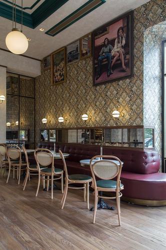 Афинский ресторан в стиле ретро (фото 5.2)