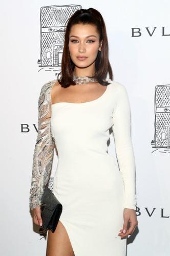 Белла Хадид на вечеринке Bulgari в Нью-Йорке фото [4]