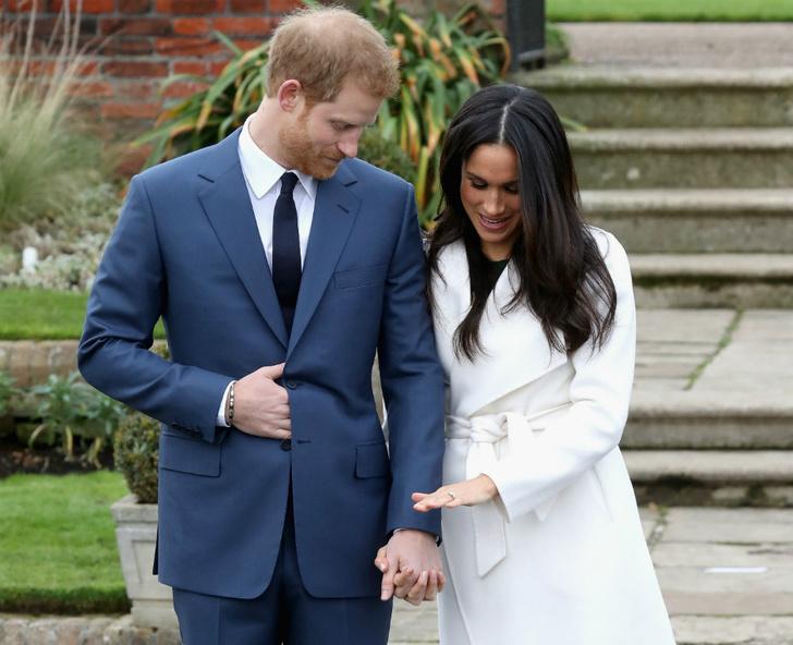 Принц Гарри и Меган Маркл помолвка