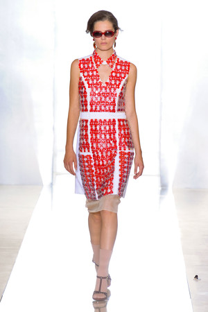 Показы мод Marni Весна-лето 2012 | Подиум на ELLE - Подиум - фото 1870