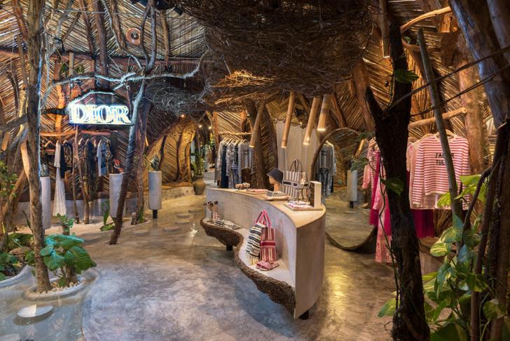 Отель Azulik с pop-up бутиком Dior в джунглях Тулума (фото 19)