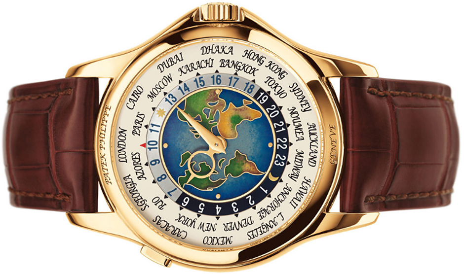 PATEK PHILIPPE PLATINUM WORLD TIME, $4 МЛН.
