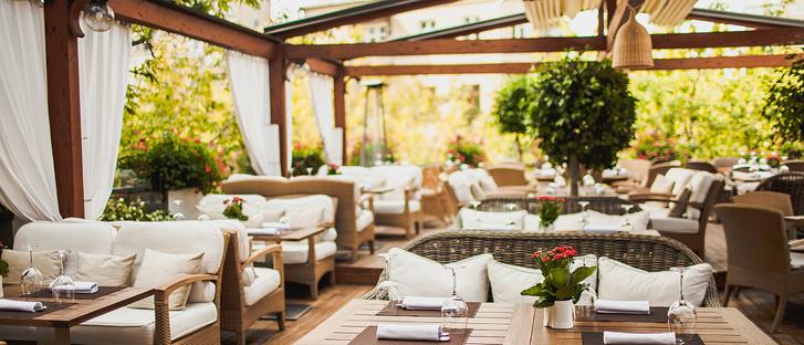Ресторан «Аист» интерьер