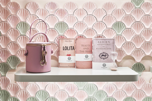 Нежно-розовый бутик по дизайну Кристины Челестино (фото 10)