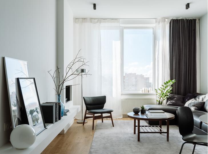 Романтический урбанизм: квартира 99,2 м² в Москве (фото 3)
