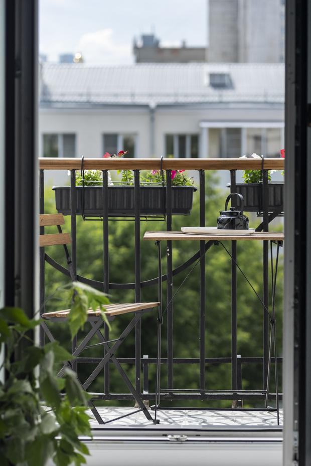 Эклектичный интерьер квартиры в Екатеринбурге (фото 14)