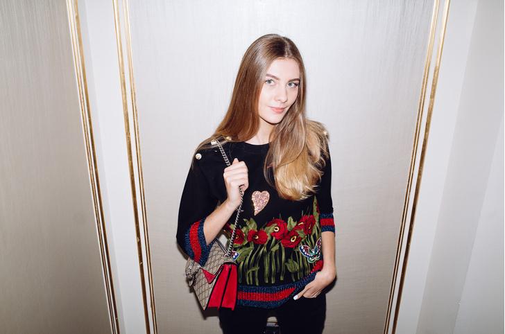 Анна Кондакова (Gucci)