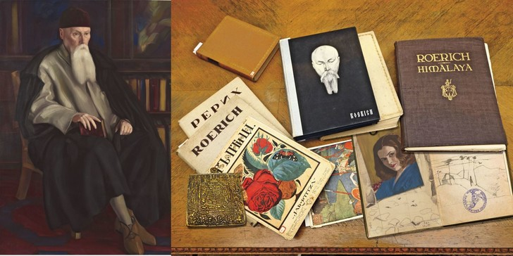 Мемориальный кабинет Николая Рериха в Музее Востока (фото 0)