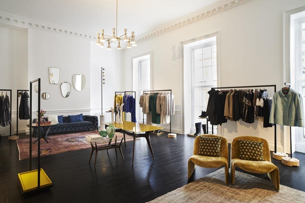 Лондон, бутик, открытие, одежда, мода, дизайн интерьера, дизайн