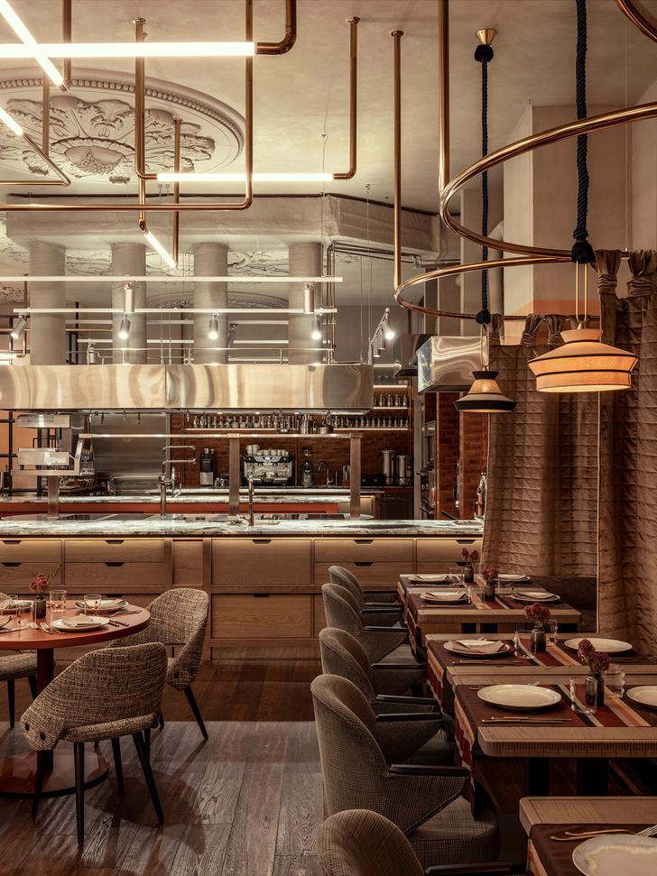 Ресторан Sartoria Lamberti: новый проект Юны Мегре (фото 17)