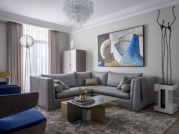 Квартира 102 м2 в Москве (фото 0)
