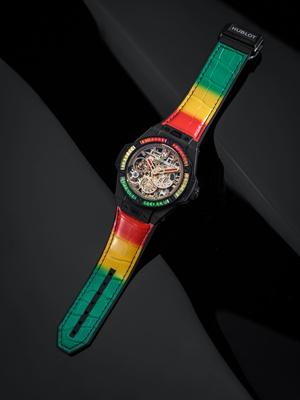 Крупным планом: часы Hublot Big Bang Meca-10 Nicky Jam (фото 4.2)