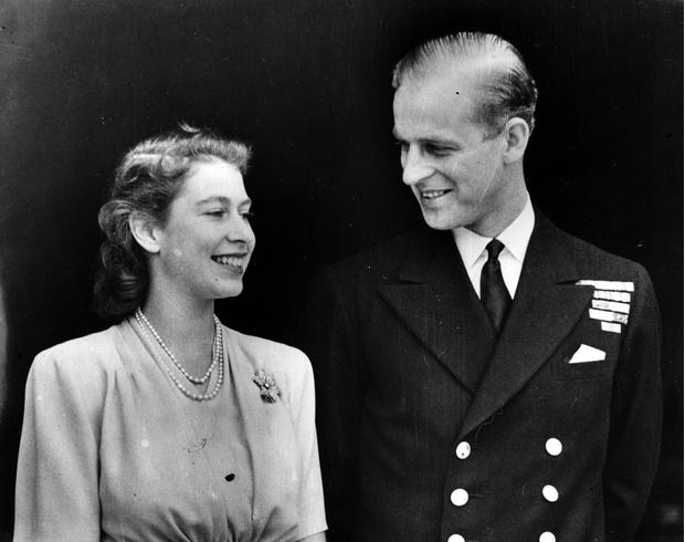 Елизавета II и принц Филипп фото