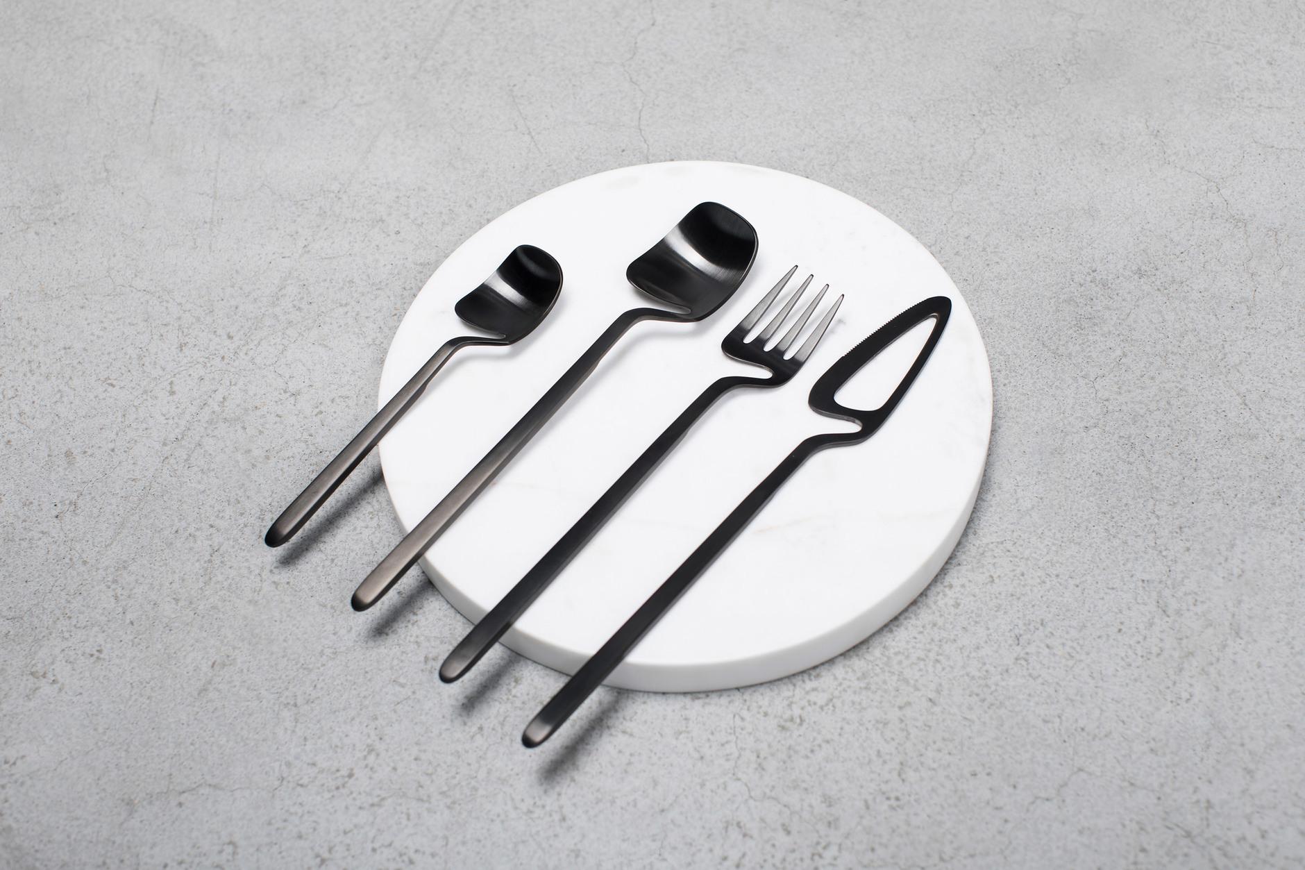Гни свою линию: столовые приборы от студии Nendo (галерея 4, фото 2)