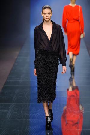 Показы мод Anteprima Осень-зима 2013-2014 | Подиум на ELLE - Подиум - фото 711
