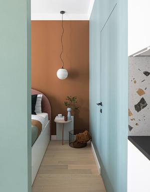 Маленькая квартира в стиле неомемфис 35 м² (фото 1)