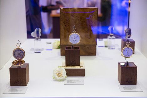 Открытие выставки «Великие изобретения Бреге» в ГУМе
