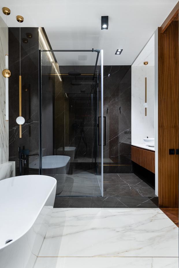Квартира 80 м² в оттенках натурального дерева и латуни (фото 20)