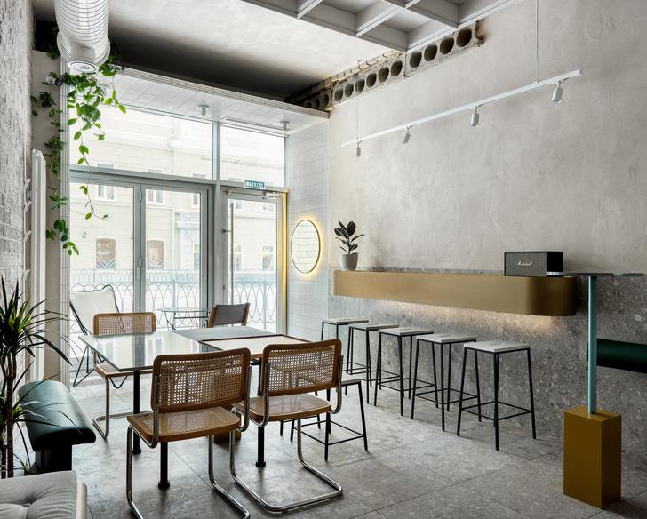 Минималистское кафе в Казани (фото 0)