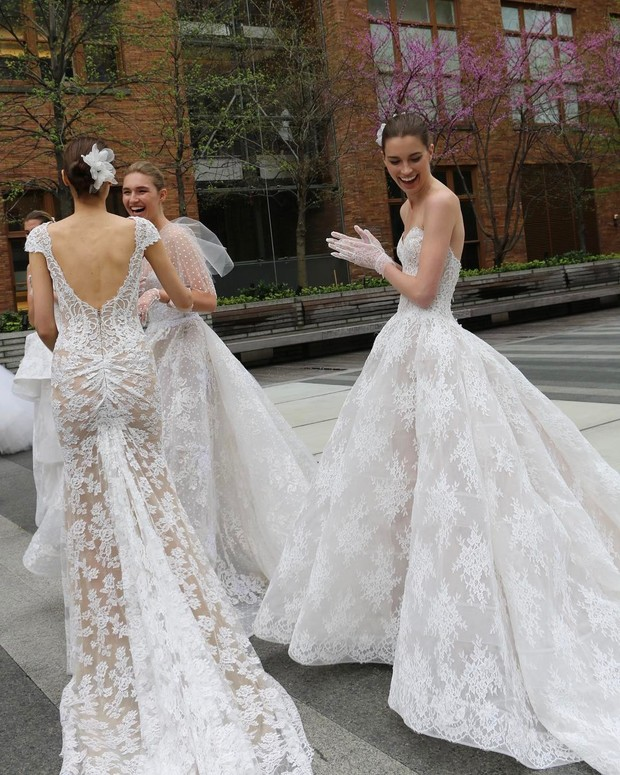 Идеальные свадебные платья 2017